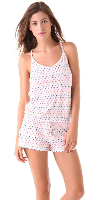 Juicy Couture Print Romper