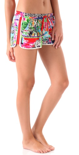 Juicy Couture Destination Print Sleep Shorts