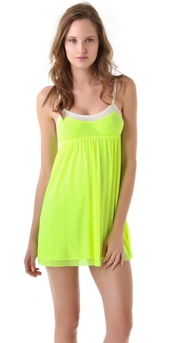 Juicy Couture Mesh Nightie | SHOPBOP from shopbop.com