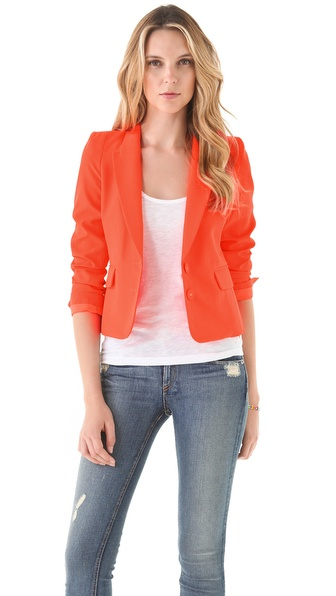 Juicy Couture Neon Blazer