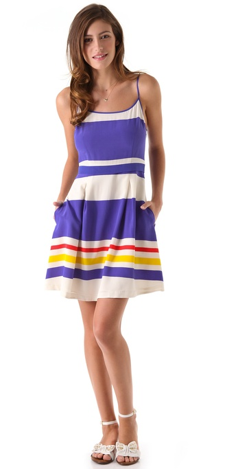 Juicy Couture Fiji Stripe Dress