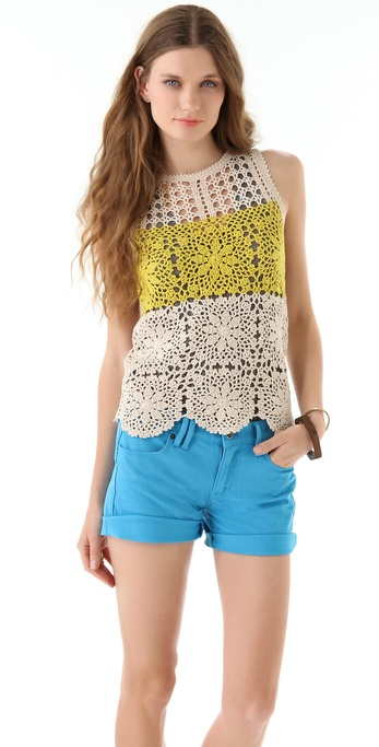 Juicy Couture Festival Crochet Top