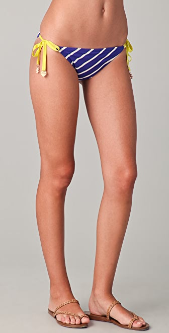 Juicy Couture Intersection Flirt String Bikini Bottoms