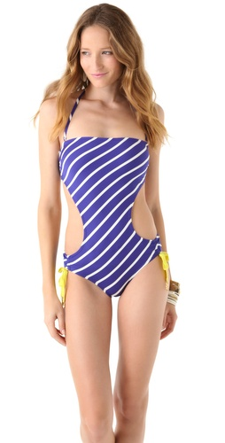 Juicy Couture Intersection Bandeau Monokini