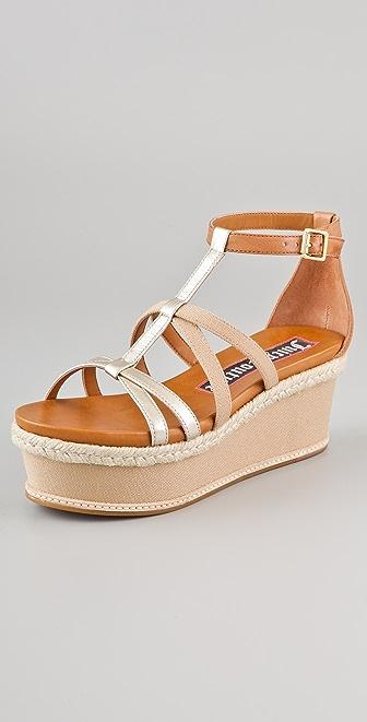 Juicy Couture Moira Flatform Sandals