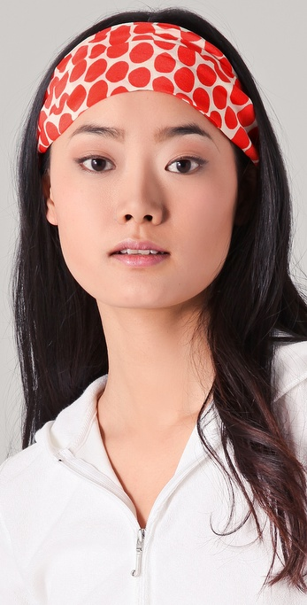 Juicy Couture Printed Silk Headband