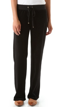 Juicy Couture Velour Original Leg Drawstring Pants
