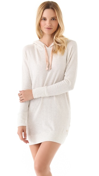 Juicy Couture French Terry Hooded Tunic