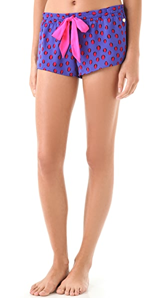 Juicy Couture Print Poly Charm Shorts