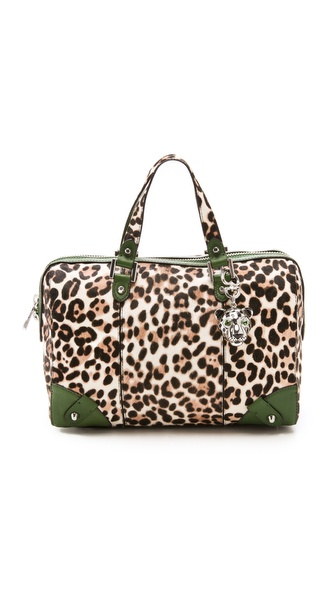 Juicy Couture Steffy Hairfcalf Satchel