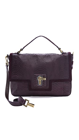 Juicy Couture Jocelyn Snake Print Satchel