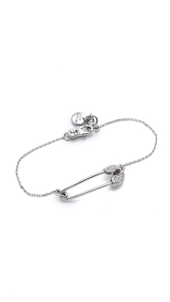 Juicy Couture Safety Pin Bracelet