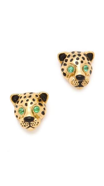 Juicy Couture Leopard Earrings
