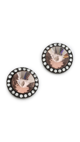 Juicy Couture Cone Stone Stud Earrings