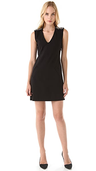 Juicy Couture Structured Dress with Zips