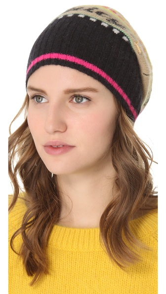 Juicy Couture Angora Fair Isle Hat
