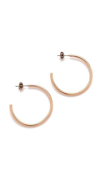 Juicy Couture Simple Hoop Earrings