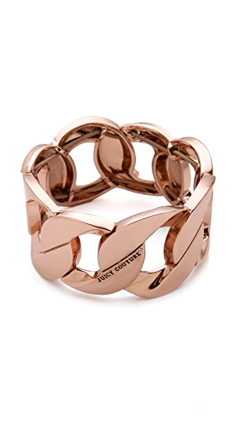 Juicy Couture Stretch Chain Bracelet