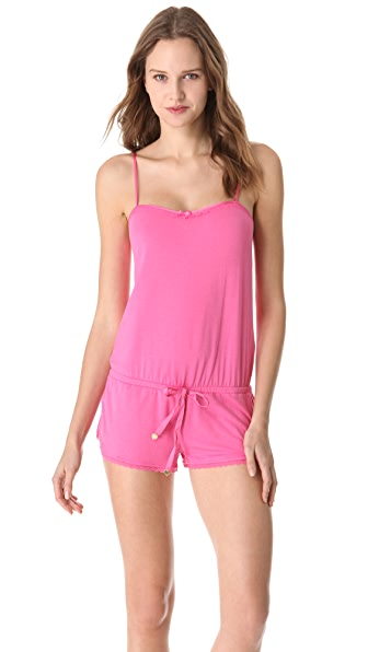 Juicy Couture Romper with Lace Trim