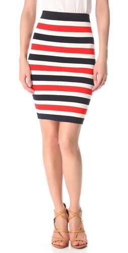 Juicy Couture Atlantic Stripe Milano Skirt at Shopbop image