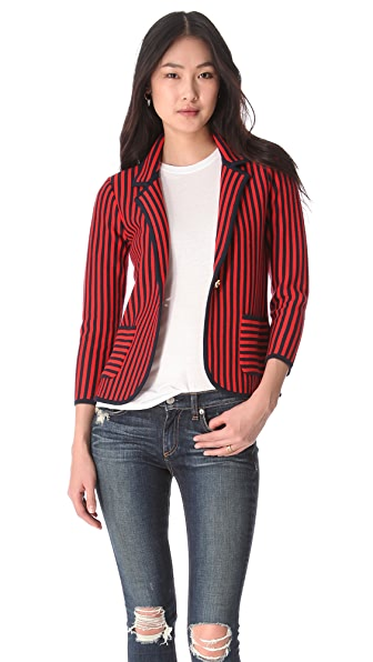 Juicy Couture Vertical Stripe Blazer