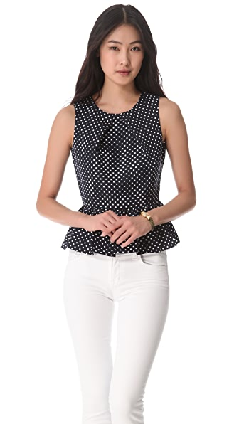Juicy Couture Flirty Dots Sleeveless Top