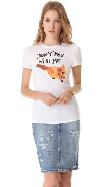 Juicy Couture Fox Graphic Tee