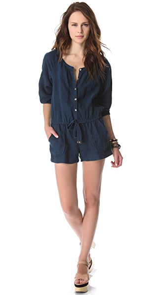 Juicy Couture Beach Linen Romper