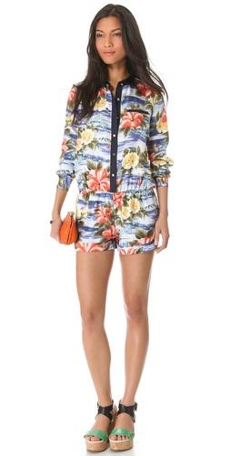 Juicy Couture Maui Floral Romper
