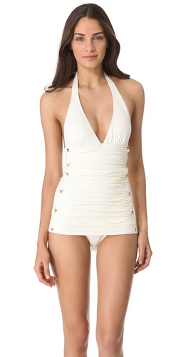 Shop Juicy Couture Miss Divine Hearts Swimsuit and Juicy Couture online - Apparel,Womens,Swim,Swim, online Store