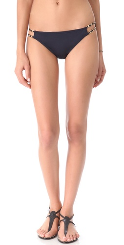 Shop Juicy Couture Gold Link Bikini Bottoms and Juicy Couture online - Apparel, Womens, Swim, Swim,  online Store