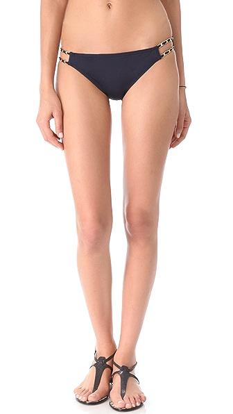 Juicy Couture Gold Link Bikini Bottoms