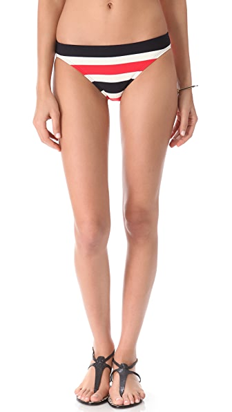 Juicy Couture Port Stripe Bikini Bottoms