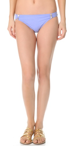 Juicy Couture Miss Divine Hearts Button Bikini Bottoms