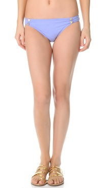 Juicy Couture Miss Divine Hearts Button Bikini Bottoms