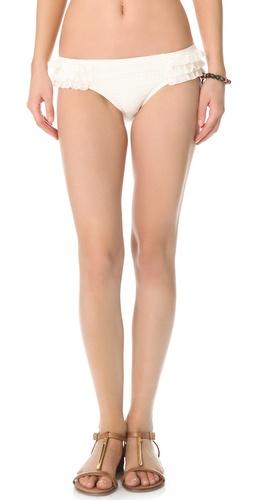 Juicy Couture Prima Donna Ruffle Bikini Bottoms