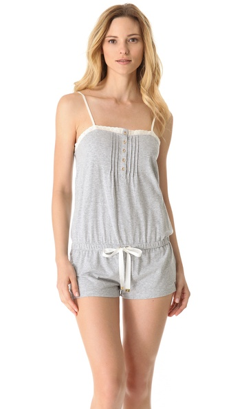 Juicy Couture Eyelet Loungewear Romper