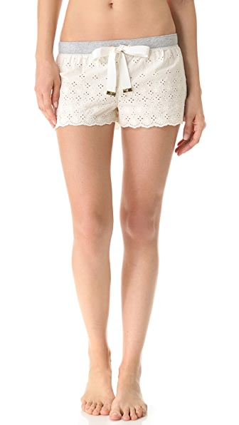 Juicy Couture Eyelet Loungewear Shorts