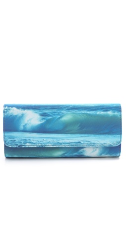 Juicy Couture Wave Print Clutch