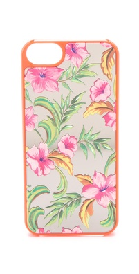 Juicy Couture Optimistic Floral Mirror iPhone Case