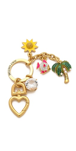 Juicy Couture Beach Charms Key Fob at Shopbop.com