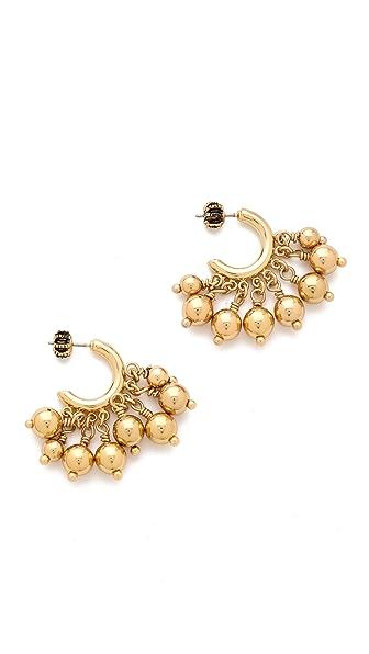 Juicy Couture Bauble Small Hoop Earrings