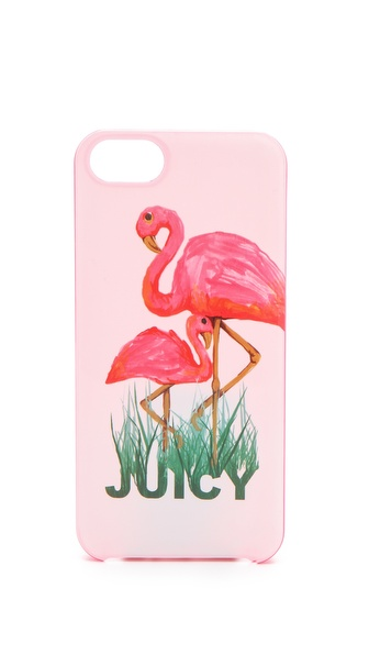 Juicy Couture Flamingo iPhone Case
