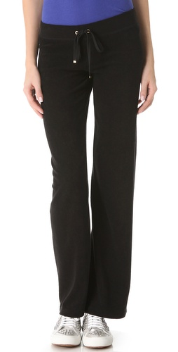 Shop Juicy Couture Original Terry Sweatpants and Juicy Couture online - Apparel,Womens,Bottoms,Sweats, online Store