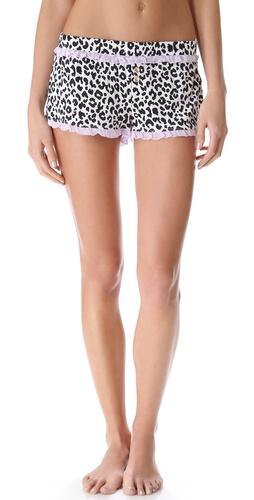 Juicy Couture Boudoir Leopard Shorts