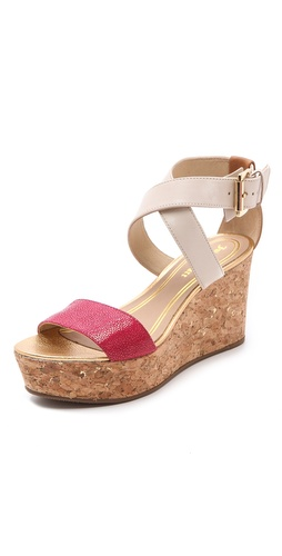 Juicy Couture Forrest Wedge Sandals at Shopbop.com