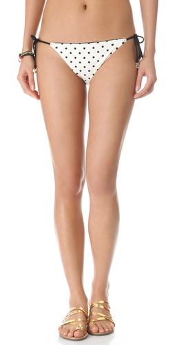 Juicy Couture Itsy Bitsy Polka Dot Bikini Bottoms