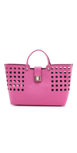Buy juicy couture handbags - Juicy Couture Emblazon Leather Shopper Tote