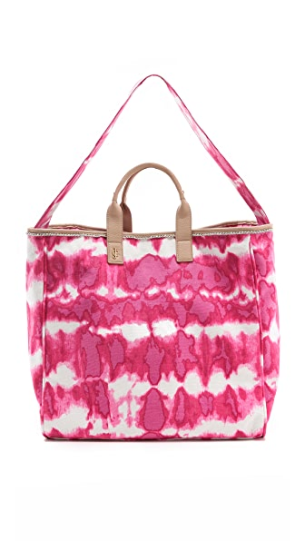 Juicy Couture Tye Dye Canvas Beach Tote