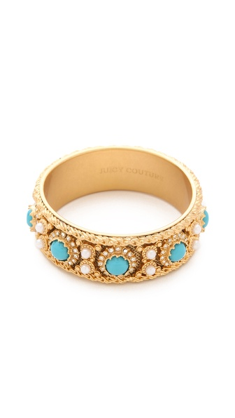 Juicy Couture Cabochon Bangle